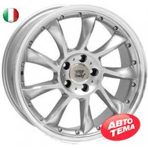 Купить WSP ITALY MADRID ME29 W729 SILVER POLISHED LIP R18 W9.5 PCD5x112 ET35 DIA66.6