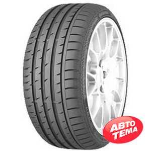 Купить Летняя шина CONTINENTAL ContiSportContact 3 245/45R19 98W Run Flat