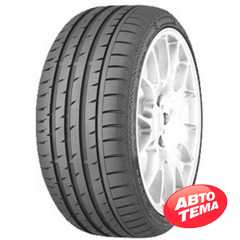 Купить Летняя шина CONTINENTAL ContiSportContact 3 275/35R18 95Y