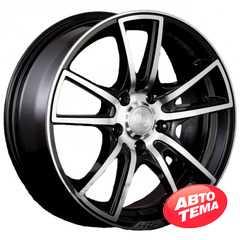 Купить RW (RACING WHEELS) H-411 BK/FP R14 W6 PCD4x98 ET38 DIA58.6