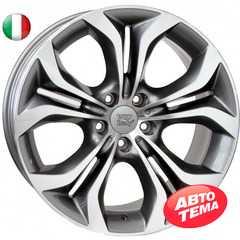 Купить WSP ITALY AURA W674 ANTHRACITE POLISHED R20 W10 PCD5x120 ET40 DIA74.1