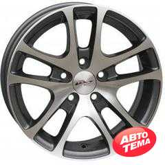 Купить RS WHEELS Wheels 244 MG R14 W6 PCD5x100 ET35 DIA57.1