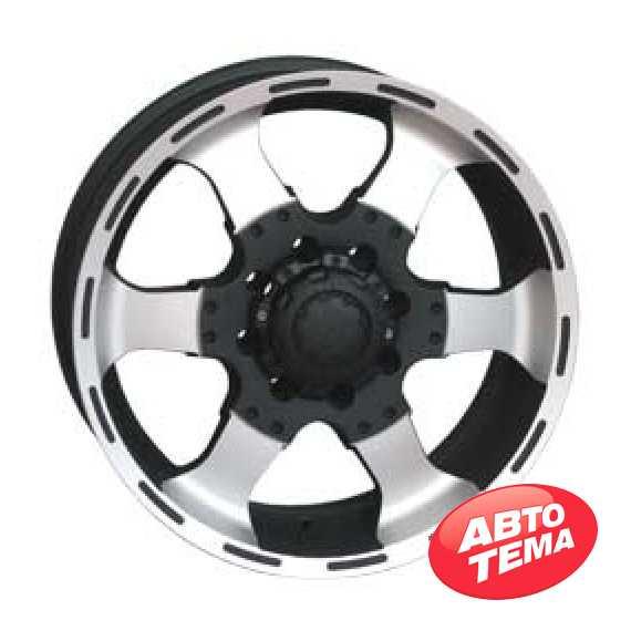 RS LUX Wheels 6037 MCB - Интернет магазин резины и автотоваров Autotema.ua