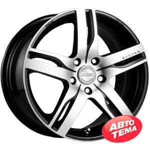 Купить RW (RACING WHEELS) H-459 BK-F/P R14 W6 PCD4x100 ET38 DIA67.1