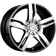 Купить RW (RACING WHEELS) H-459 BK-F/P R14 W6 PCD4x98 ET38 DIA58.6
