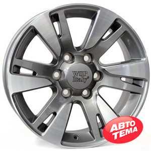 Купить WSP ITALY VENERE TO65 W1765 ANTHRACITE POLISHED R20 W9.5 PCD6x139.7 ET20 DIA106.1