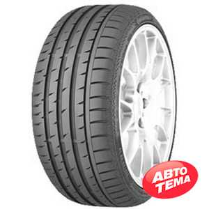 Купить Летняя шина CONTINENTAL ContiSportContact 3 245/40R18 97Y