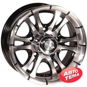 Купить ZW 268 (BP - Черный внутри полированый) R14 W7 PCD5x139.7 ET0 DIA108.1
