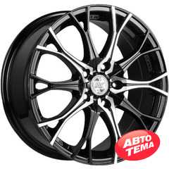 Купить RW (RACING WHEELS) H 530 BKFP R16 W7 PCD5x112 ET40 DIA66.6