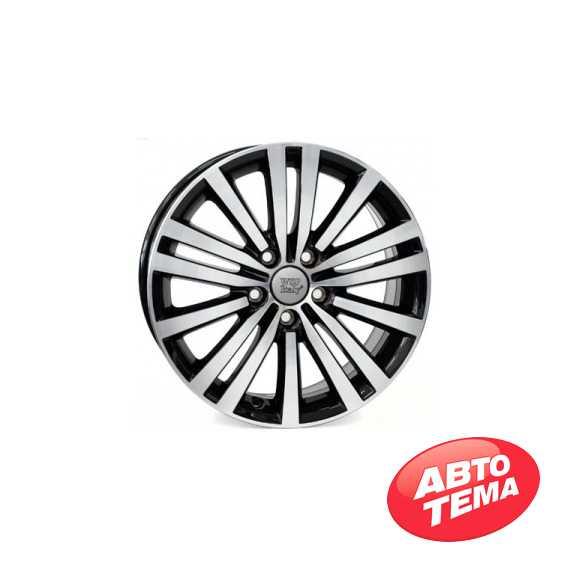 WSP ITALY Altair W462 Glossy Black Polished - Интернет магазин резины и автотоваров Autotema.ua