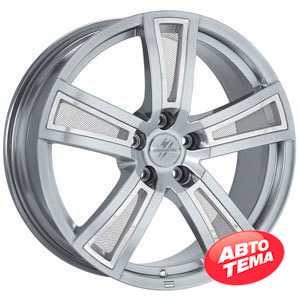 Купить FONDMETAL TECH6 Shiny Silver R17 W7.5 PCD5x112 ET35 DIA57.1