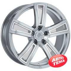 Купить FONDMETAL TECH6 Shiny Silver R17 W7.5 PCD5x110 ET35 DIA65.1