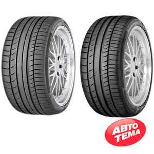 Купить Летняя шина CONTINENTAL ContiSportContact 5 245/50R18 100Y