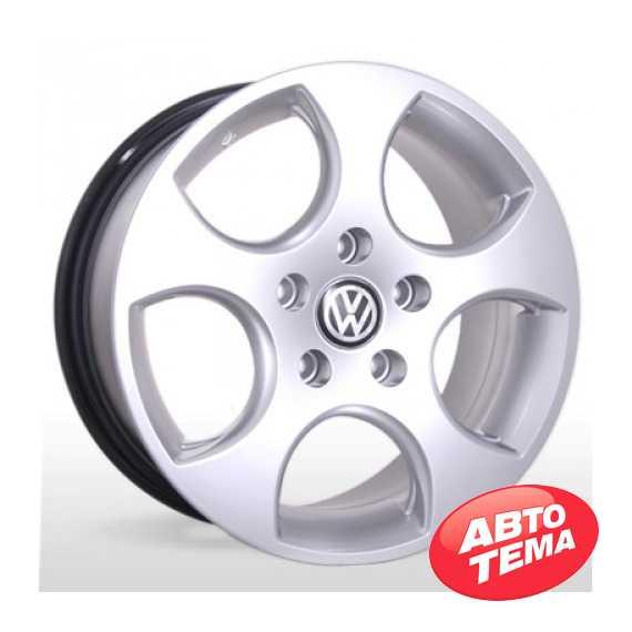 REPLICA Volkswagen AR 163 Silver - Интернет магазин резины и автотоваров Autotema.ua