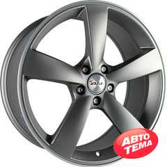 Купить AVUS AF10 Matt Anthracite Polished R18 W8 PCD5x112 ET35 DIA66.6