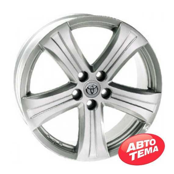 REPLICA Toyota AR 398 Silver - Интернет магазин резины и автотоваров Autotema.ua