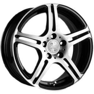 Купить RW (RACING WHEELS) H-568 BK F/P R15 W6.5 PCD4x100 ET38 DIA67.1
