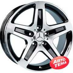 Купить REPLICA Mercedes AR775 BF R19 W9.5 PCD5x130 ET50 DIA84.1
