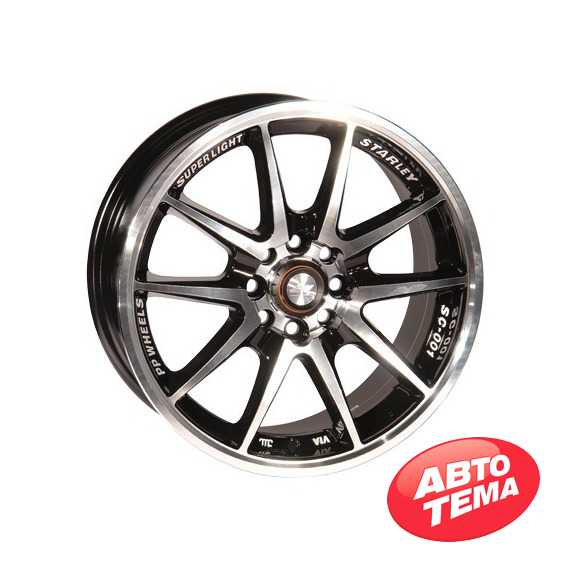 Купить ZW 969 (BPX - Чёрный внутри и полированое лицо диска) R15 W6.5 PCD4x98/100 ET38 DIA67.1