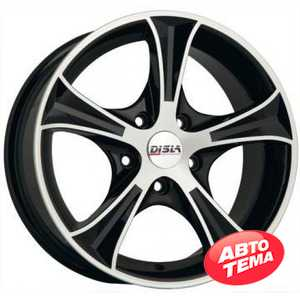 Купить DISLA Luxury 406 BD R14 W6 PCD4x108 ET37 DIA67.1