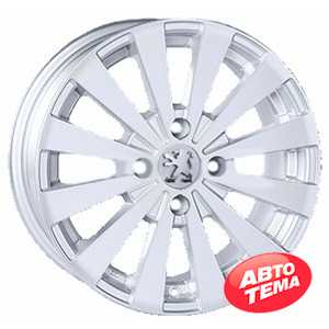 Купить REPLICA Peugeot JT 1147 Silver R15 W6.5 PCD4x108 ET15 DIA65.1