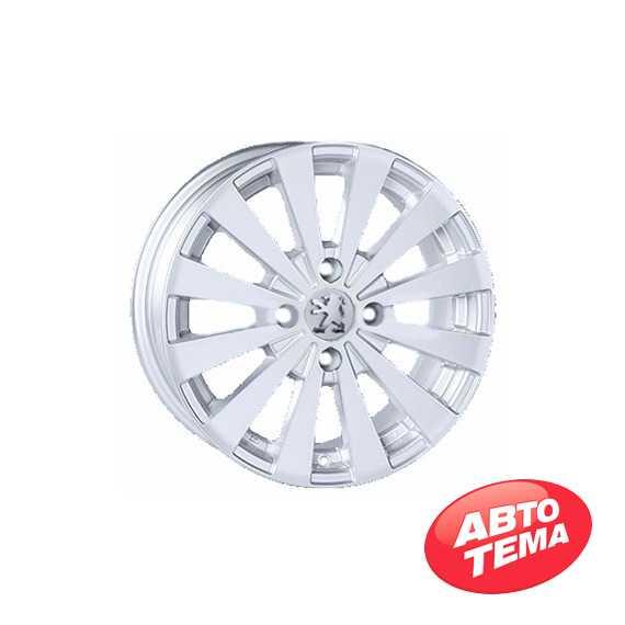REPLICA Peugeot JT 1147 Silver - Интернет магазин резины и автотоваров Autotema.ua