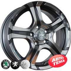 Купить REPLICA Peugeot 745 EP R14 W5.5 PCD4x108 ET25 DIA65.1