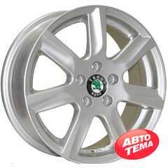 Купить REPLICA Skoda 7314 SIL R15 W6 PCD5x100 ET40 DIA57.1