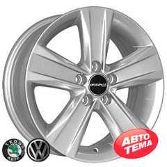 Купить ZY REPLICA Volkswagen 5125 S R15 W6 PCD5x100 ET38 DIA57.1