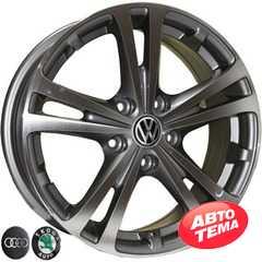 Купить REPLICA Audi Z616 DGMF R16 W6.5 PCD5x112 ET42 DIA57.1