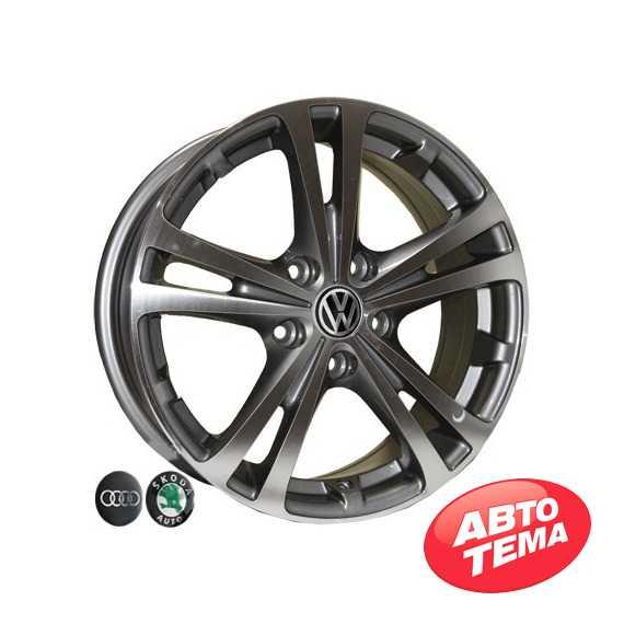 REPLICA Audi Z616 DGMF - Интернет магазин резины и автотоваров Autotema.ua
