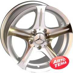 Купить REPLICA Mercedes 145 SP R15 W7 PCD5x112 ET35 DIA66.6