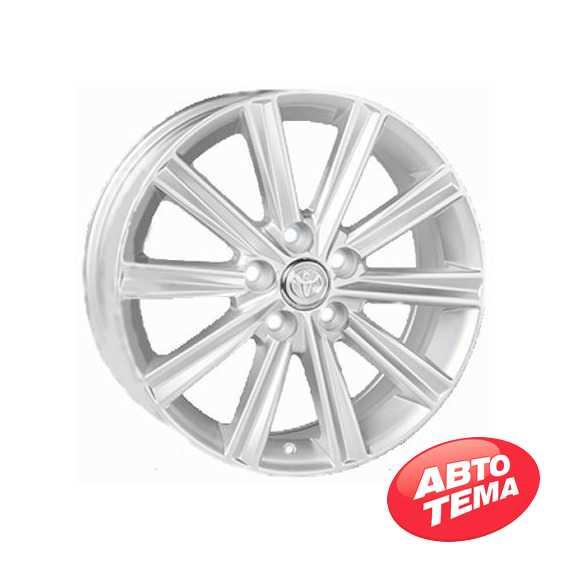 REPLICA Toyota JT1377 Silver - Интернет магазин резины и автотоваров Autotema.ua