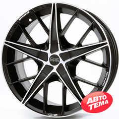 OZ QUARANTA MATT BLACK DIAMOND CUT - Интернет магазин резины и автотоваров Autotema.ua