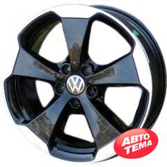 WSP Italy W465 Laceno VO65 Glossy Black Polished - Интернет магазин резины и автотоваров Autotema.ua