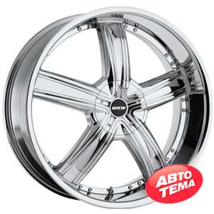 Купить MI-TECH (MKW) M-103 CHROME R18 W7.5 PCD5x110/114. ET40 DIA73.1