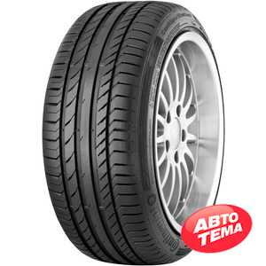 Купить Летняя шина CONTINENTAL ContiSportContact 5 SUV 255/40R20 101W