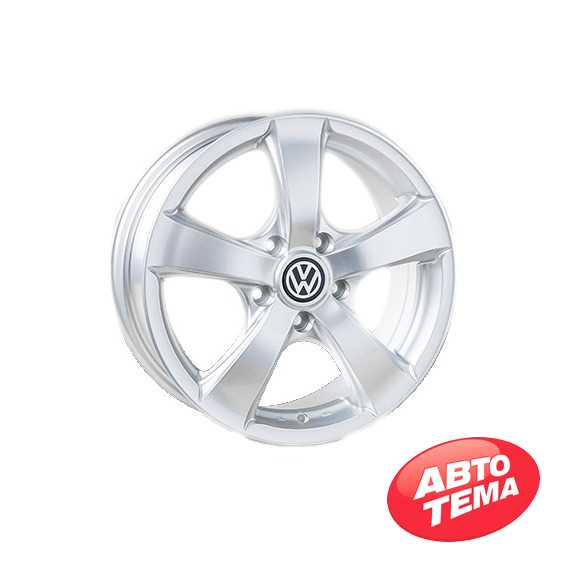 REPLICA Volkswagen JT 1040 Silver - Интернет магазин резины и автотоваров Autotema.ua