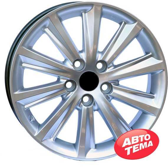Wheels Factory WLS1 HYPER SILVER - Интернет магазин резины и автотоваров Autotema.ua