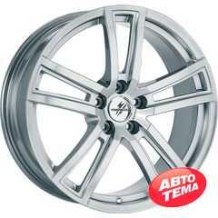 Купить FONDMETAL TECH 6 Shiny Silver Naked R17 W7.5 PCD5x112 ET42 DIA57.1
