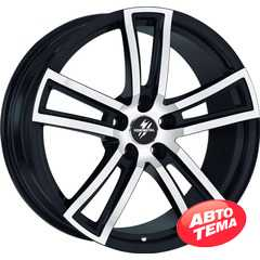 Купить FONDMETAL Tech 6 Black Polished Naked R17 W7.5 PCD5x114.3 ET35 DIA71.5