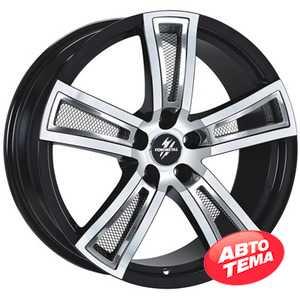 Купить FONDMETAL Tech 6 Black Polished R18 W8 PCD5x114.3 ET30 DIA67.1