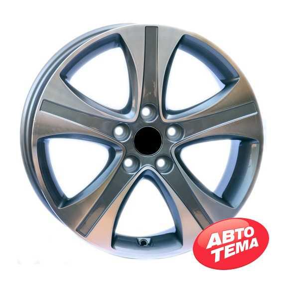 Replica WheelsFactory WHD2 GM - Интернет магазин резины и автотоваров Autotema.ua
