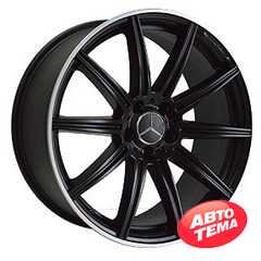 Купить REPLICA MR857 MBLP R19 W8.5 PCD5x112 ET38 DIA66.6