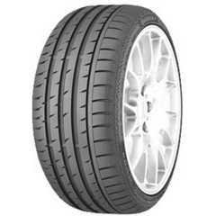 Купить Летняя шина CONTINENTAL ContiSportContact 3 275/40R18 99Y Run Flat