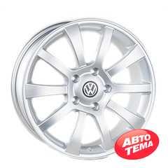 REPLICA Volkswagen JT1098 Silver - Интернет магазин резины и автотоваров Autotema.ua