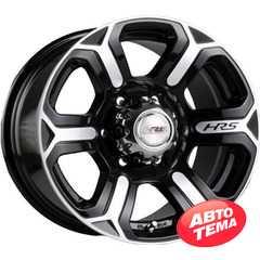 Купить RW (RACING WHEELS) H-427 BK/FP R17 W8 PCD6x139.7 ET20 DIA110.5