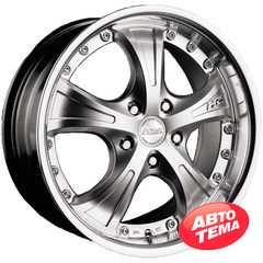 Купить RW (RACING WHEELS) H-402 BK/FP R17 W7.5 PCD5x114.3 ET35 DIA73.1
