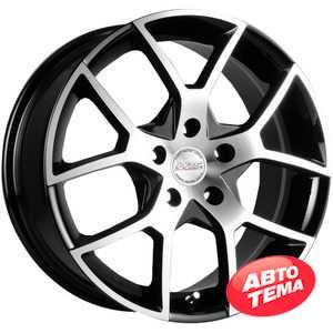 Купить RW (RACING WHEELS) H-466 BK-F/P R15 W6.5 PCD5x100 ET40 DIA67.1