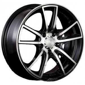 Купить RW (RACING WHEELS) H-411 BK/FP R16 W7 PCD5x114.3 ET40 DIA73.1